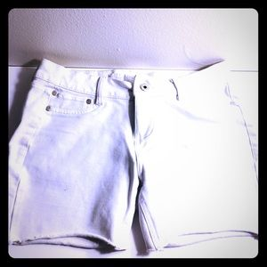 Girls Size 9 Converted White Shorts Vanilla Star